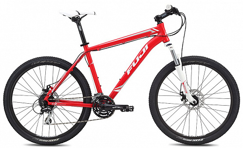 a7835fef6f550110ef42bb165b43c71c - Велосипед Fuji 2015 MTB мод. Nevada 1.7 D USA A2-SL р. 17  цвет красно белый
