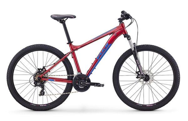 Велосипед Fuji 2020 MTB LADY мод. Addy 27.5 1.9 D A2-SL цвет красный металлик