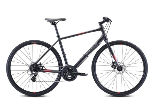 ABSOLUTE 1.9 USA A2 SL black 600x400 - Велосипед Fuji 2021  FITNESS мод. ABSOLUTE 1.9 USA A2-SL р. 19 цвет чёрный металлик