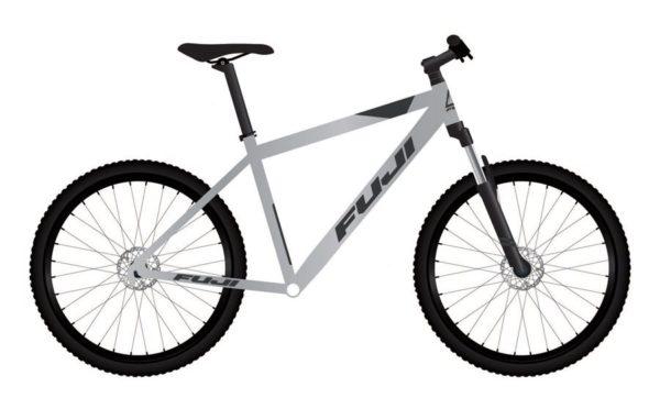 ADVENTURE Satin Silver 1 600x372 - Велосипед Fuji 2021 MTB мод. Adventure 27.5 A1-SL р. 19 цвет серебряный металлик