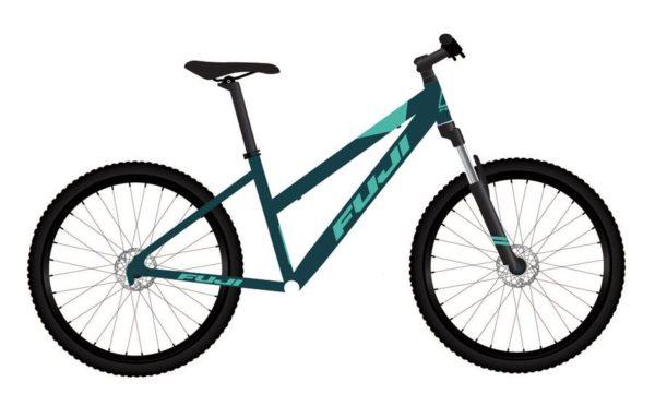 ADVENTURE turquoise 1 600x372 - Велосипед Fuji 2021 MTB мод. Adventure 27.5 ST A1-SL р. 15 цвет бирюзовый металлик