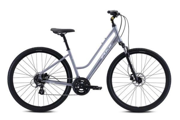 CROSSTOWN 1.3 LS 2021 1 600x400 - Велосипед Fuji 2021  COMFORT LADY мод. CROSSTOWN 1.3 LS USA A2-SL р. 17 цвет серебряный металлик