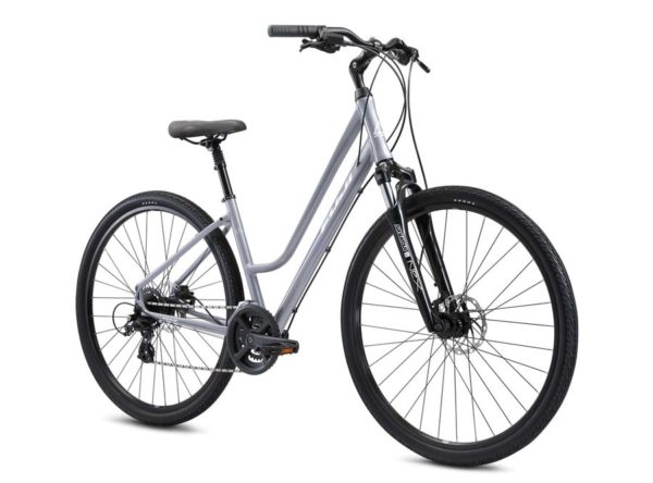 CROSSTOWN 1.3 LS 2021 2 600x444 - Велосипед Fuji 2021  COMFORT LADY мод. CROSSTOWN 1.3 LS USA A2-SL р. 17 цвет серебряный металлик