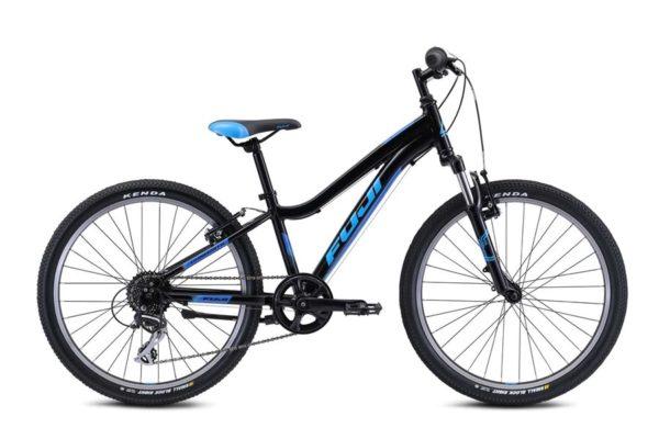 DYNAMITE Black Blue 600x400 - Велосипед Fuji 2021 MTB KIDS мод. Dynamite 24 COMP  A1-SL р. 12 цвет чёрно-синий