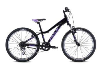 DYNAMITE Black Purple 1 350x233 - Велосипед Fuji 2021 MTB KIDS мод. Dynamite 24 COMP  A1-SL р. 12 цвет чёрно-фиолетовый