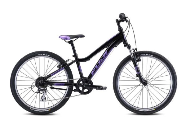 DYNAMITE Black Purple 1 600x400 - Велосипед Fuji 2021 MTB KIDS мод. Dynamite 24 COMP  A1-SL р. 12 цвет чёрно-фиолетовый