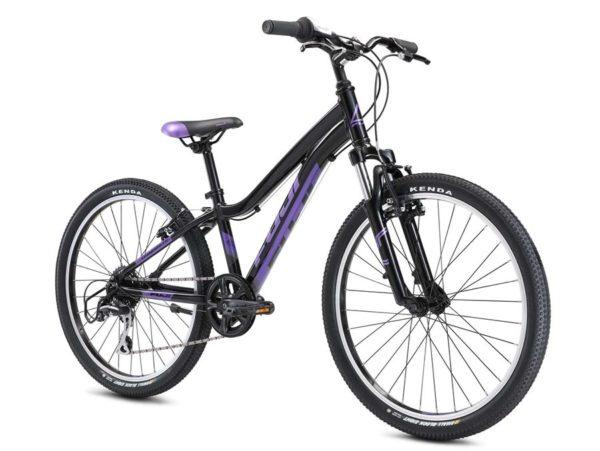 DYNAMITE Black Purple 2 600x451 - Велосипед Fuji 2021 MTB KIDS мод. Dynamite 24 COMP  A1-SL р. 12 цвет чёрно-фиолетовый