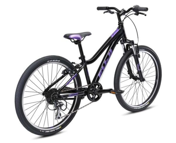 DYNAMITE Black Purple 3 600x488 - Велосипед Fuji 2021 MTB KIDS мод. Dynamite 24 COMP  A1-SL р. 12 цвет чёрно-фиолетовый