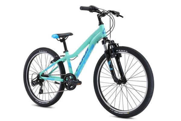 DYNAMITE Mint 2 600x400 - Велосипед Fuji 2021 MTB KIDS мод. Dynamite 24 SPORT  A1-SL р. 12 цвет мятный металлик