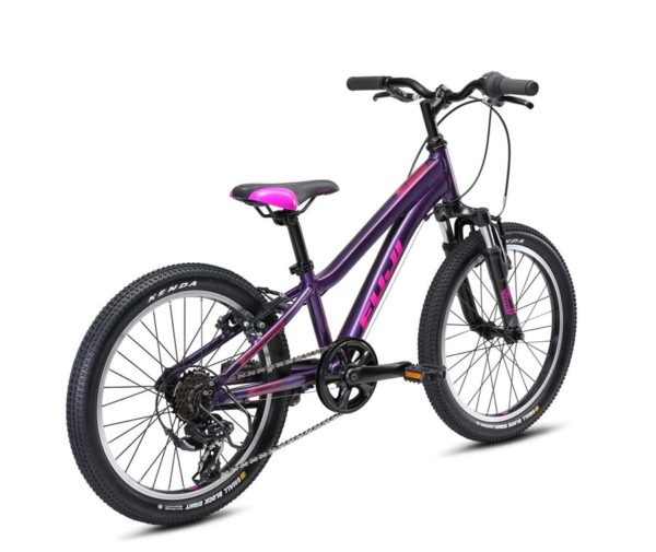 Dimamit fioletovyy 3 600x505 - Велосипед Fuji 2021 MTB KIDS мод. Dynamite 20  A1-SL р. 10 цвет фиолетовый металлик