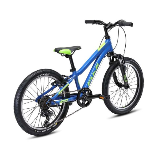 Dimamit siniy 3 600x541 - Велосипед Fuji 2021 MTB KIDS мод. Dynamite 20  A1-SL р. 10 цвет синий металлик