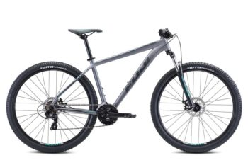 Nevada Dark Teal 1 1 350x233 - Велосипед Fuji 2021 MTB мод. Nevada 27.5 1.9 D  A2-SL р. 17 цвет серый металлик
