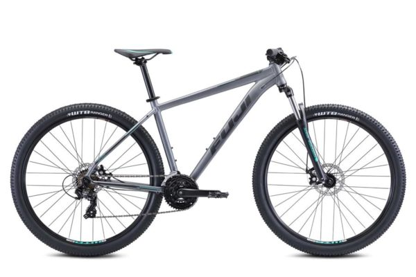 Nevada Dark Teal 1 1 600x400 - Велосипед Fuji 2021 MTB мод. Nevada 27.5 1.9 D  A2-SL р. 19 цвет серый металлик