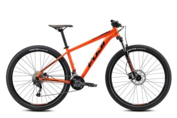 Nevada Orange Satin Black 1 350x233 - Велосипед Fuji 2021 MTB мод. Nevada 29 3.0 LTD  A2-SL р. 17 цвет оранжевый металлик