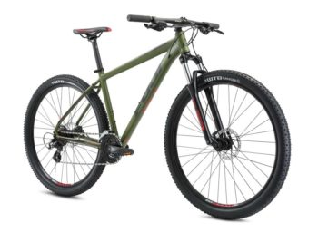 Nevada Satin Army Green Blue 1 350x256 - Велосипед Fuji 2021 MTB мод. Nevada 29 4.0 LTD  A2-SL р. 17 цвет армейский зелёный