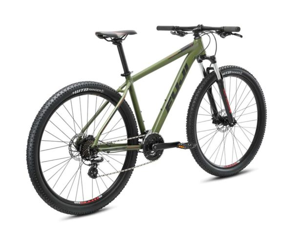 Nevada Satin Army Green Blue 2 600x467 - Велосипед Fuji 2021 MTB мод. Nevada 29 4.0 LTD  A2-SL р. 21 цвет армейский зелёный