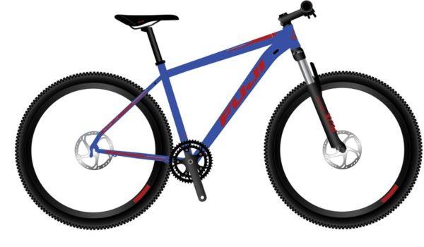 Nevada Satin Army Green Blue 3 600x350 - Велосипед Fuji 2021 MTB мод. Nevada 29 4.0 LTD  A2-SL р. 19 цвет голубой металлик
