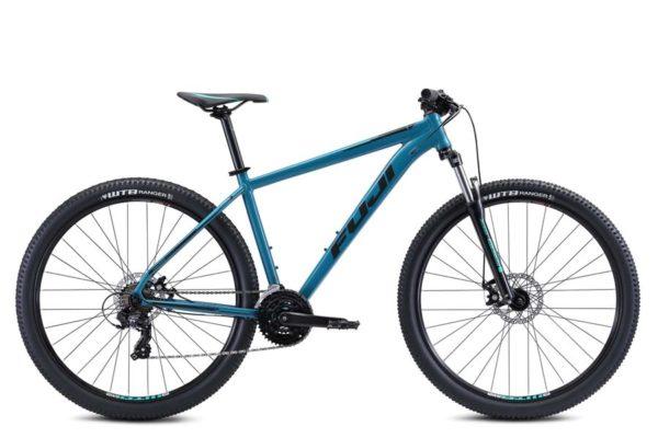 Nevada Satin Graphite 1 600x400 - Велосипед Fuji 2021 MTB мод. Nevada 29 1.9 D  A2-SL р. 23 цвет тёмно бирюзовый