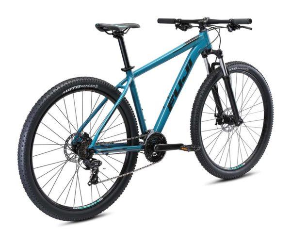 Nevada Satin Graphite 3 600x474 - Велосипед Fuji 2021 MTB мод. Nevada 29 1.9 D  A2-SL р. 21 цвет тёмно бирюзовый