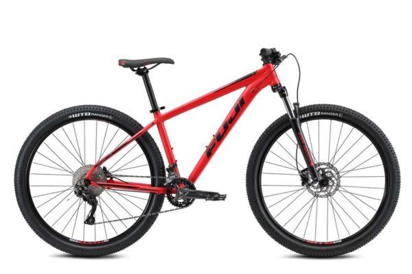 Nevada Satin Red 1 600x400 - Велосипед Fuji 2021 MTB мод. Nevada 29 2.0 LTD  A2-SL р. 23 цвет красный металлик