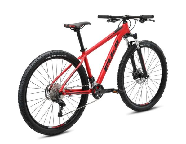 Nevada Satin Red 3 600x465 - Велосипед Fuji 2021 MTB мод. Nevada 29 2.0 LTD  A2-SL р. 23 цвет красный металлик