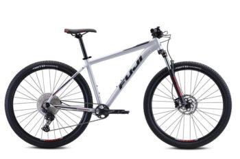 Nevada Satin Silver 1 350x233 - Велосипед Fuji 2021 MTB мод. Nevada 29 1.3 D USA A2-SL р. 17 цвет серебряный