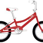 ROOKIE Red 150x150 - Велосипед Fuji 2021 LIFESTYLE KIDS мод. ROOKIE 16 GIRL  A1-SL р. 16 цвет красный металик