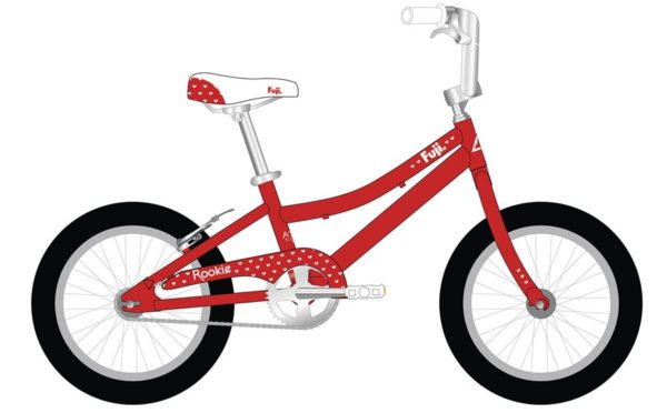 ROOKIE Red 600x372 - Велосипед Fuji 2021 LIFESTYLE KIDS мод. ROOKIE 16 GIRL  A1-SL р. 16 цвет красный металик