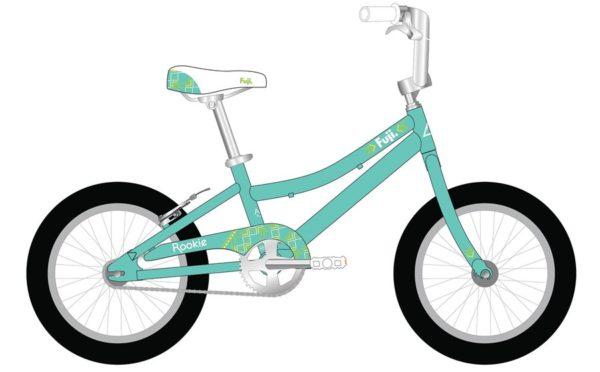 ROOKIE Sea Foam Pearl White 600x372 - Велосипед Fuji 2021 LIFESTYLE KIDS мод. ROOKIE 20 GIRL  A1-SL р. 20 цвет бирюзовый металик