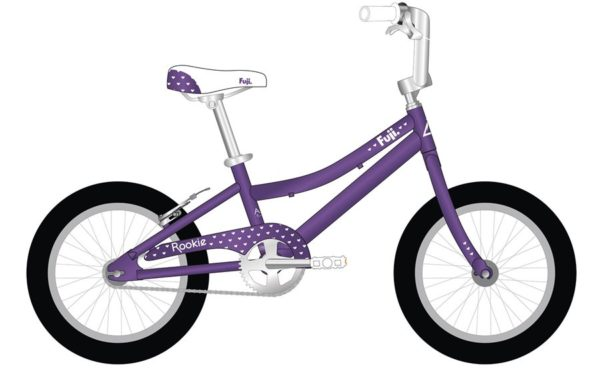 ROOKIE Violet 600x372 - Велосипед Fuji 2021 LIFESTYLE KIDS мод. ROOKIE 16 GIRL  A1-SL р. 16 цвет фиолетовый металлик