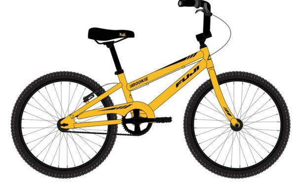 ROOKIE yelloy 600x372 - Велосипед Fuji 2021 LIFESTYLE KIDS мод. ROOKIE 16 BOY  A1-SL р. 16 цвет жёлтый металик