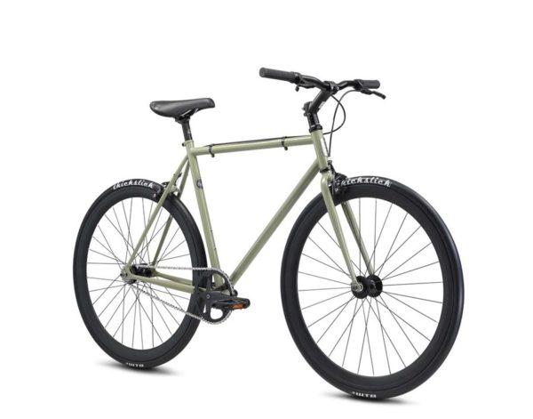 declaration green2 600x471 - Велосипед Fuji 2021 LIFESTYLE мод. Declaration USA Steel р. 55 цвет хаки зелёный
