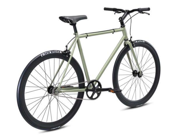 declaration green3 600x466 - Велосипед Fuji 2021 LIFESTYLE мод. Declaration USA Steel р. 55 цвет хаки зелёный