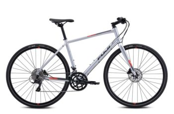 Велосипед Fuji 2021 FITNESS мод. ABSOLUTE 1.3 USA A2-SL р. 17 цвет серебряный металлик