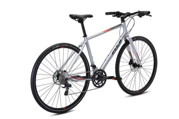 Велосипед Fuji 2021 FITNESS мод. ABSOLUTE 1.3 USA A2-SL цвет серебряный металлик
